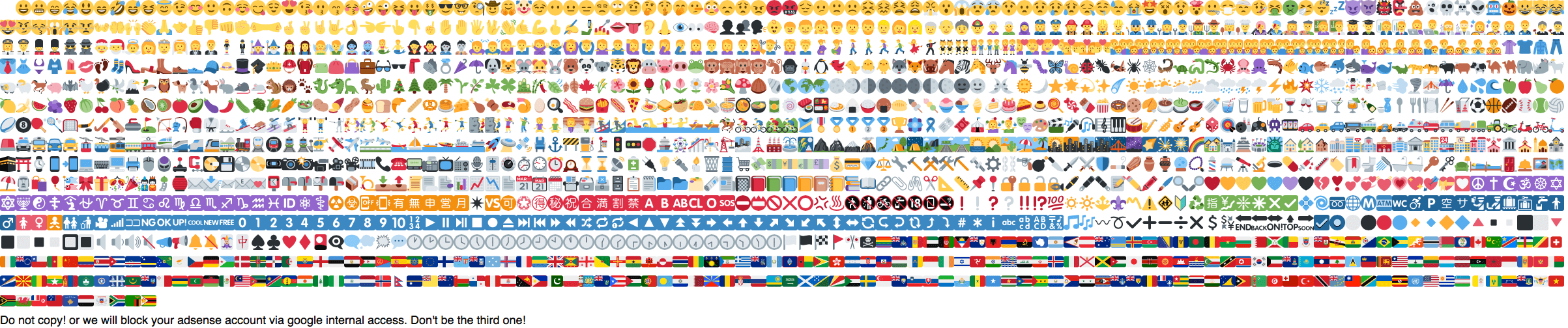 Emoji in Blog